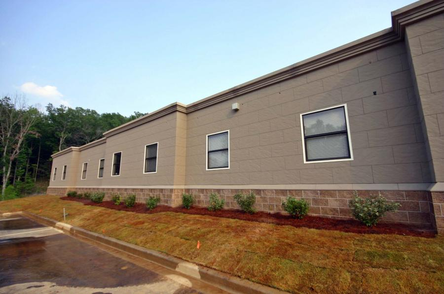 10,000 sq ft modular building complex
