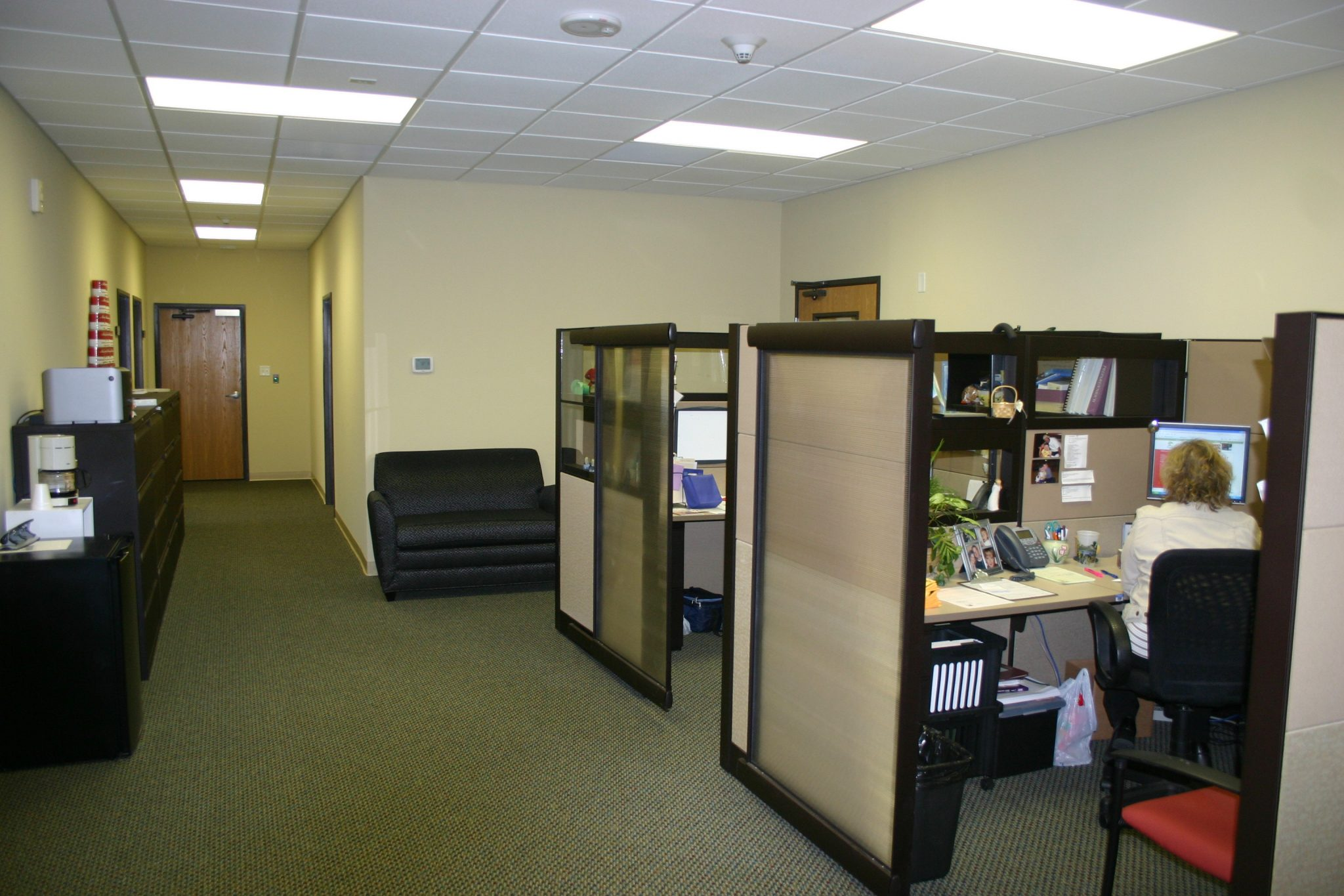 Large Church Admin Office Space with Cubicles