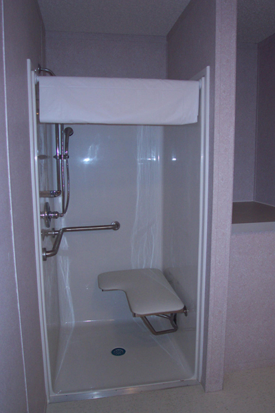ADA Compliant Shower Trailer