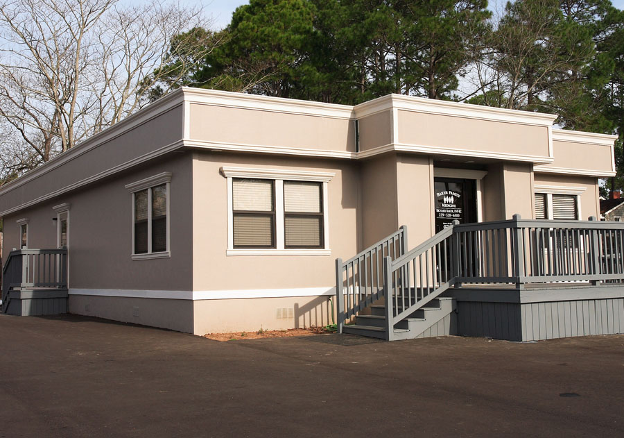 Baker Health Clinic Modular Building