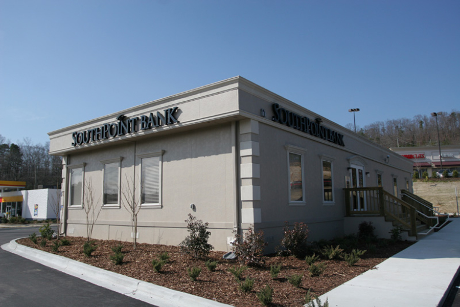 Bank using commercial modular buildings