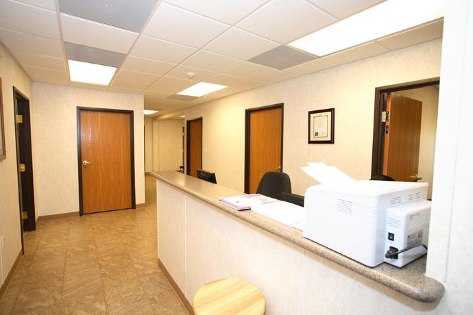 Built-in Reception Desk