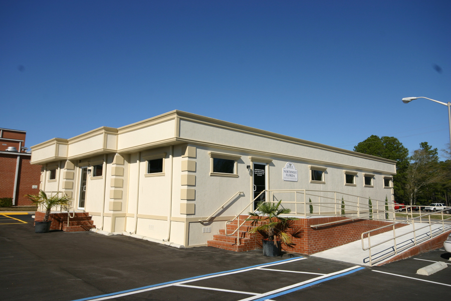 Chipley Florida Health Clinic using Rose Modular Buildings