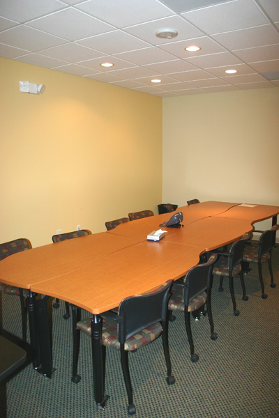 Conference Room in Custom Modular Building