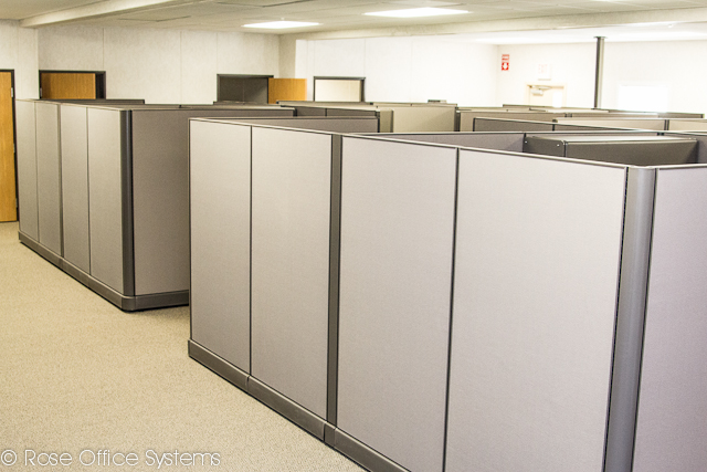 Cubicles in Large Open Area