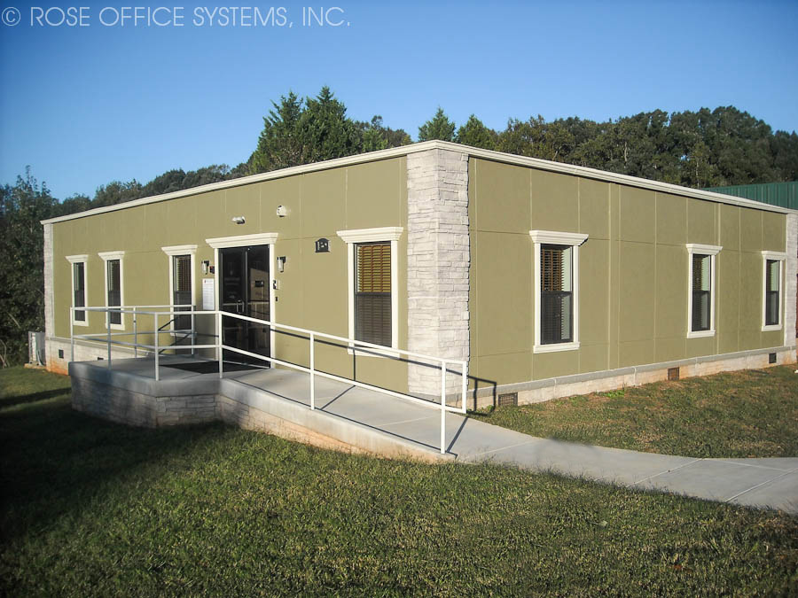 Custom Modular Office Building