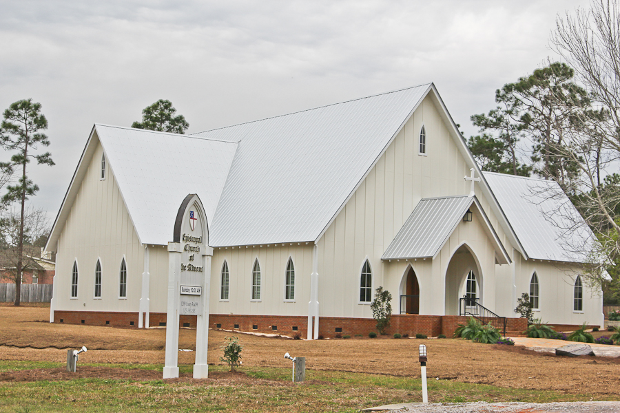 Episcopal Church of the Advent Custom Exterior in Lillian, AL