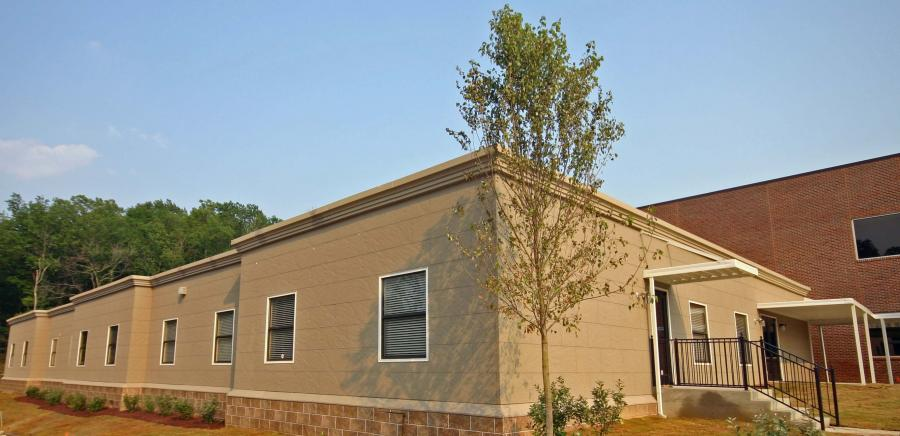 Extra Large Modular Building with Nichiha siding