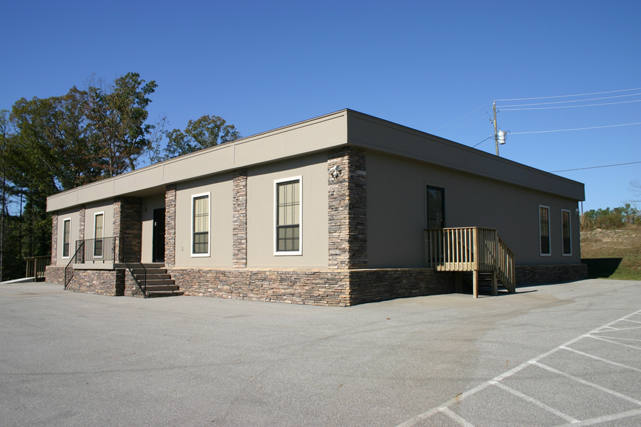 Large Modular building for church fellowship hall
