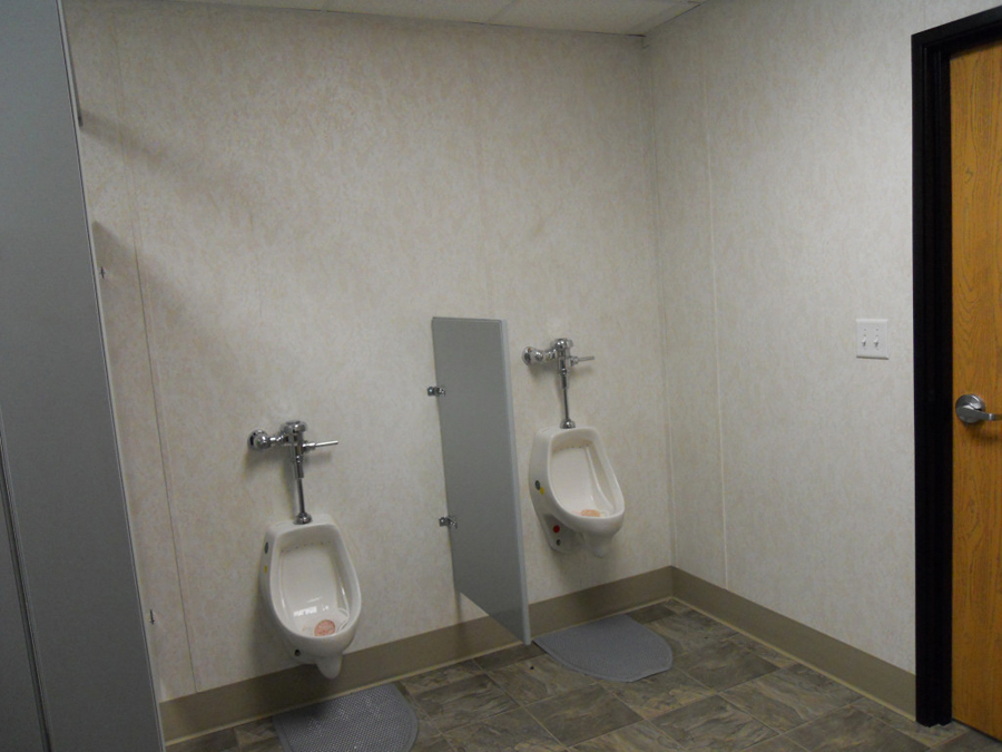 Mens Restroom Urinals