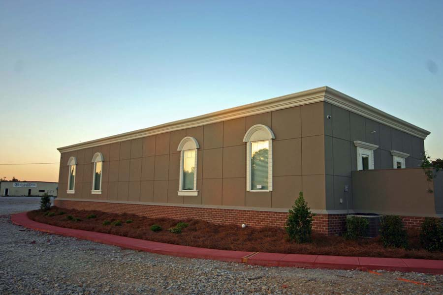 Modular Office Building with upgraded window details