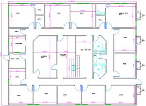Modular Office Floorplan