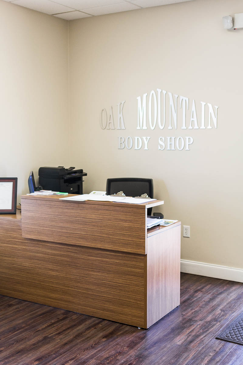 Receptionist Office of Auto Body Shop