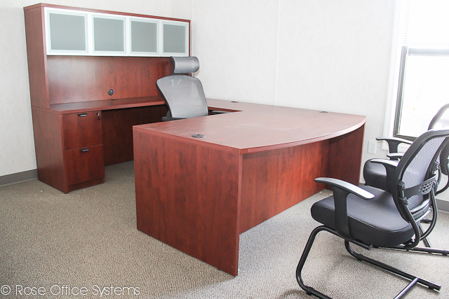 Office with furniture provided by Rose
