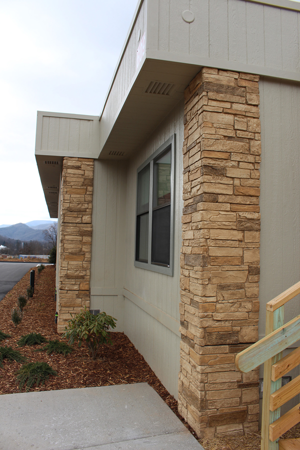 Rock Corners on Modular Medical Clinic