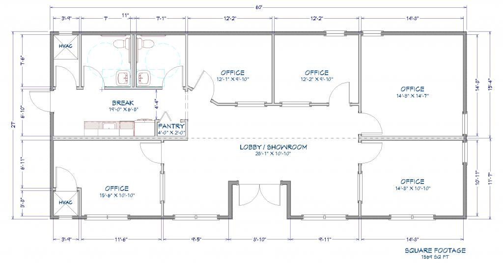 The Buckhead Auto Sales Center Floor Plan