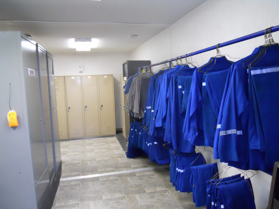 Worker Shower Trailer and Locker Room