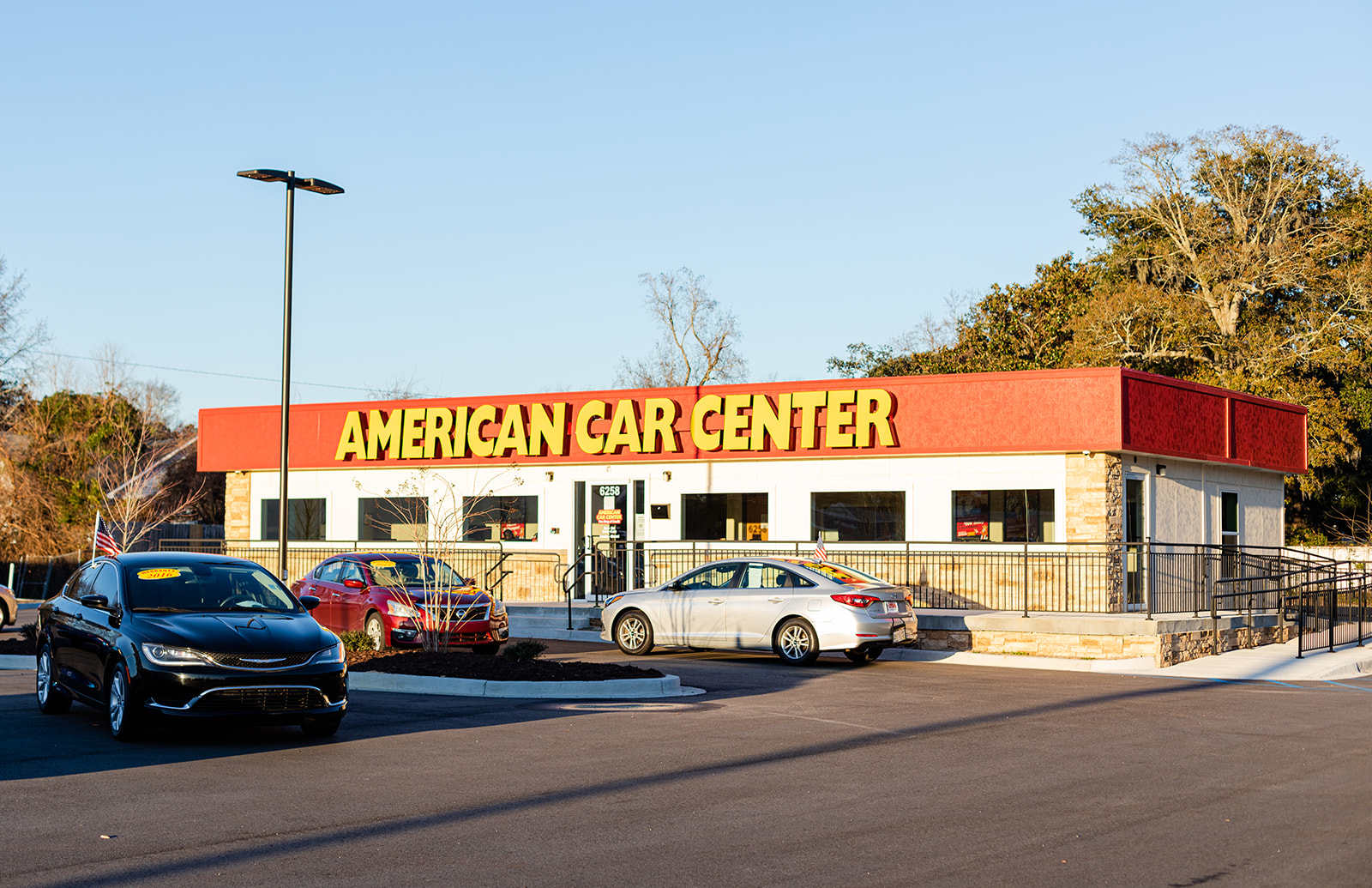 American Car Center Modular Building