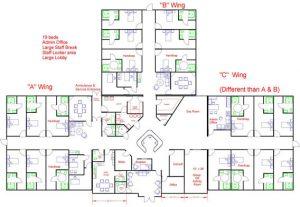 Modular Hospital Floor plan